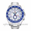 Hommes Rolex Yacht-master Ii 116680 44 MM Boîtier Mouvement Automatique Cadran Blanc
