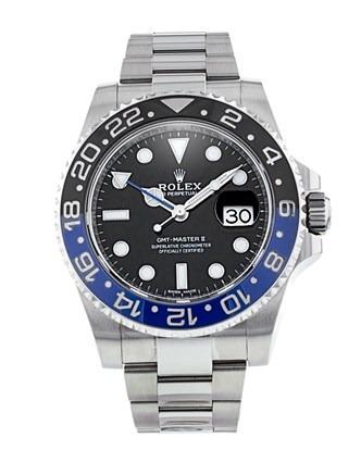 Rolex GMT-Master II 116710 Montre automatique homme cadran noir 40 mm