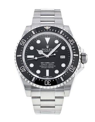 Rolex Sea-Dweller 116600 Montre Automatique Homme Acier 40mm Cadran Noir