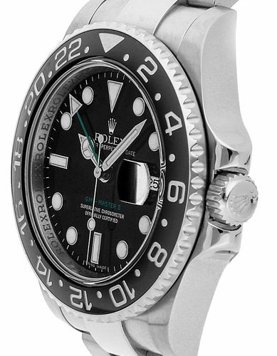 Rolex GMT-Master II 116710LN Montre automatique noire pour homme 40 mm